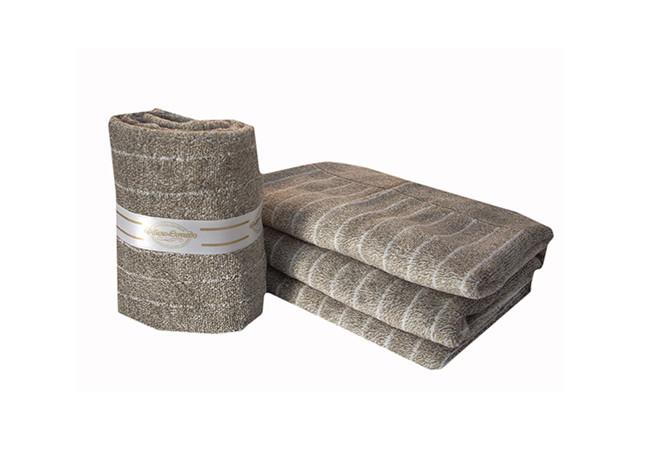Asciugamani gessate 650 gr\mq spugna ciniglia effetto morbido