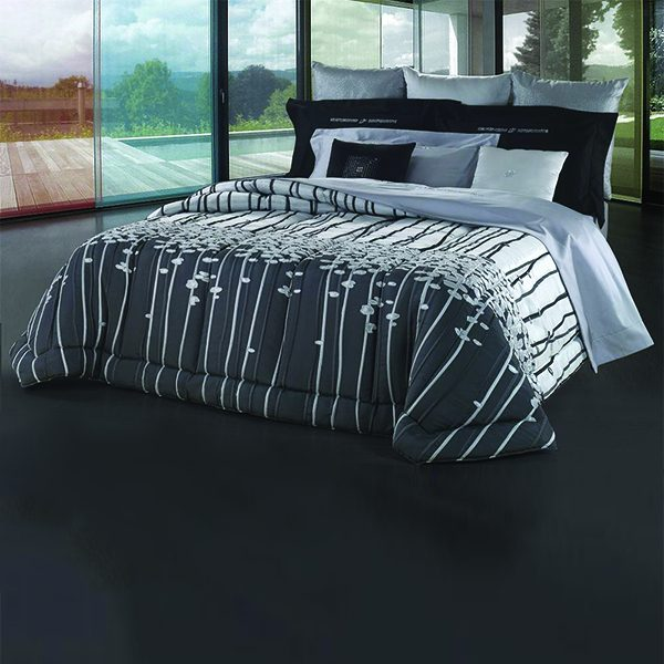 Trapunta david home matrimoniale black dream 270*270 cm