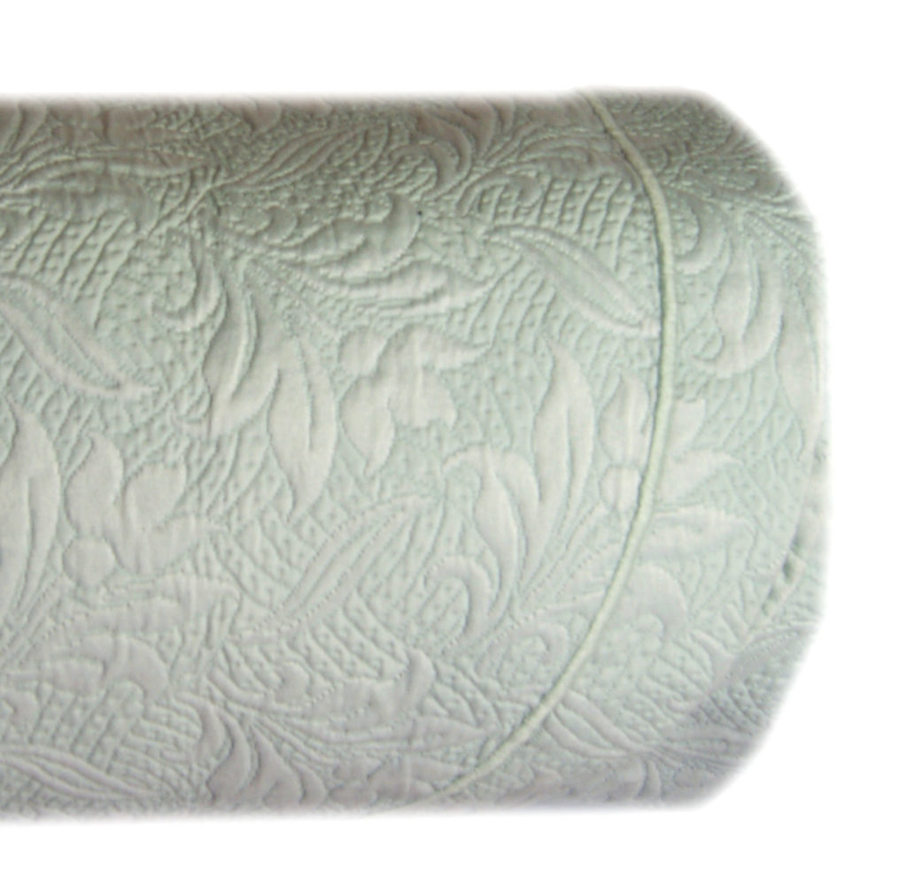 Copriletto Estivo Matrimoniale Cotone Tessuto Matelasse Colore Verde Acquamarina Piliero It Home Decor